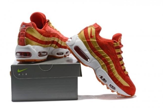 FemmeHomme Nike Air Max 95 RougeJaune lebonmarket