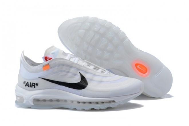 FemmeHomme OFF WHITE x Nike Air Max 97 Blanc lebonmarket