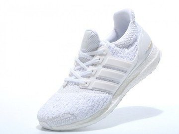 Vente avec paiement en ligne: Femme Adidas Ultra Boost Blanc