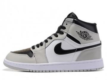 Vente avec paiement en ligne: Femme/Homme Nike Air Jordan 1 Gris