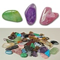 Buy Now: 25 lbs--Genuine Gemstone Nuggets --$4.00 lbs