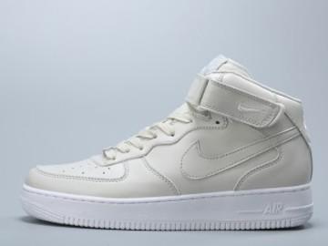 Vente avec paiement en ligne: Femme/Homme Nike Air Force 1 Blanc