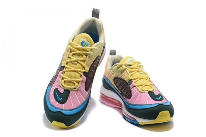 Homme Nike Air Max 98 Rose/Jaune - lebonmarket