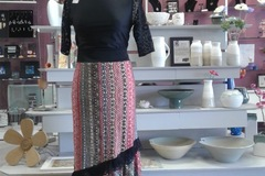 Vente au détail: jupe longue flamenco