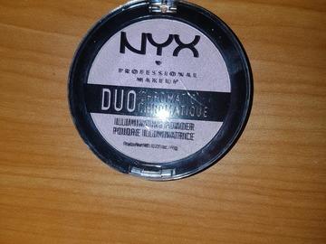Venta: Iluminador Duo Chromatic en polvo NYX