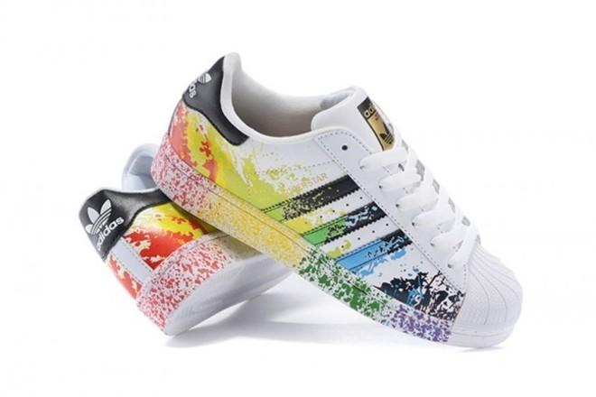 FemmeHomme Adidas Originals Superstar Barbouillage