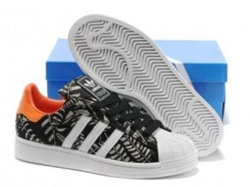 Vente avec paiement en ligne: Femme/Homme Adidas Originals Superstar barbouillage