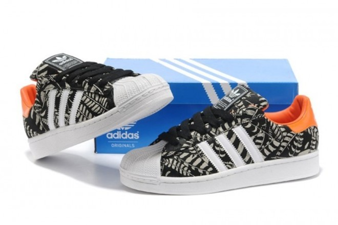 femme adidas originals superstar barbouillage