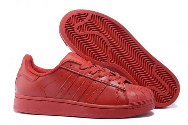 Femme/Homme Adidas Originals Superstar Rouge - lebonmarket