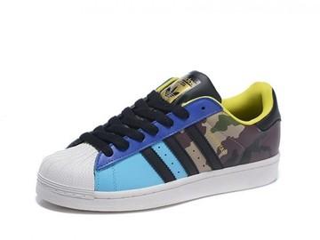 Vente avec paiement en ligne: Femme/Homme Adidas Originals Superstar couleur camouflage