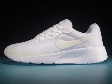 Vente avec paiement en ligne: Femme Nike tanjun Blanc