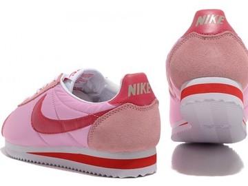Vente avec paiement en ligne: Femme Nike Cortez Rose