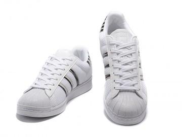 Sale with online payment: Femme/Homme Adidas Originals Superstar blanc