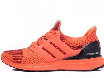 Vente avec paiement en ligne: Homme Adidas Ultra Boost Orange