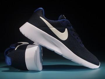 Vente avec paiement en ligne: Femme Nike tanjun Noir/Bleu