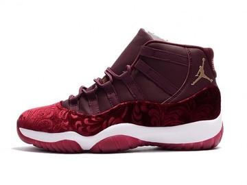 Vente avec paiement en ligne: Homme Nike Air Jordan 11 Rouge