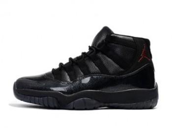 Vente avec paiement en ligne: Homme Nike Air Jordan 11 Noir