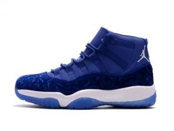 Vente avec paiement en ligne: Homme Nike Air Jordan 11 Bleu