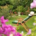 NOS JARDINS A LOUER: Jardin au calme au milieu des vignes