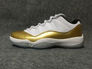 Vente avec paiement en ligne: Femme/Homme Nike Air Jordan 11 Blanc/Jaune