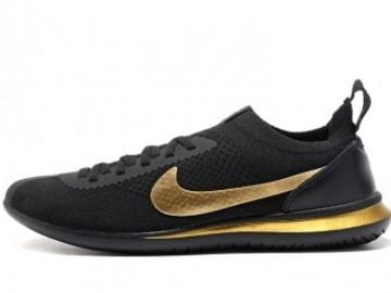 Vente avec paiement en ligne: Femme Nike Cortez Noir/golden