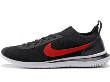 Vente avec paiement en ligne: Femme Nike Cortez Noir/Rouge