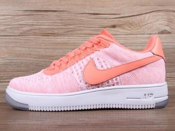 Vente avec paiement en ligne: Femme Nike Air Force 1 Ultra Flyknit Orange