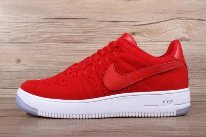Femme/Homme Nike Air Force 1 Rouge - lebonmarket