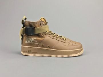 Vente avec paiement en ligne: Femme/Homme Nike Air Force 1 Brun