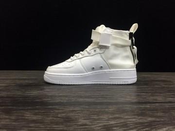 Vente avec paiement en ligne: Femme/Homme Nike Air Force 1 Beige/Blanc