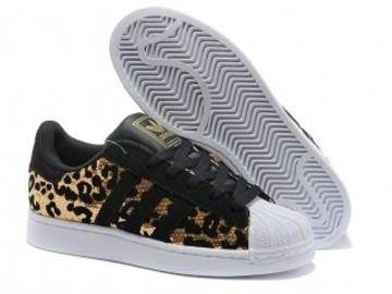 Vente avec paiement en ligne: Femme Adidas Originals Superstar doré
