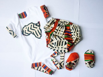 Selling with online payment: Unisex African Kente Print Bloomer