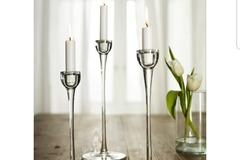 Ilmoitus: Ikea Blomster kynttilänjalat 10 settiä (30kpl)
