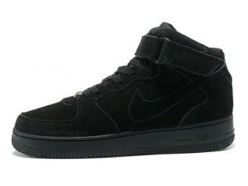 Vente avec paiement en ligne: Homme Nike Air Force 1 Noir