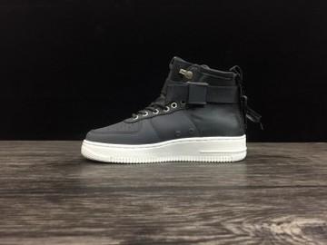 Vente avec paiement en ligne: Femme/Homme Nike Air Force 1 Noir/Blanc