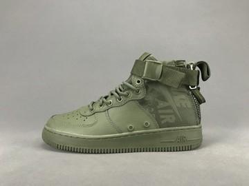 Vente avec paiement en ligne: Femme/Homme Nike Air Force 1 Vert