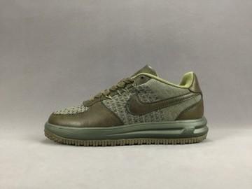 Vente avec paiement en ligne: Homme Nike Air Force 1 Vert
