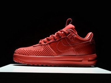 Vente avec paiement en ligne: Homme Nike Air Force 1 Rouge