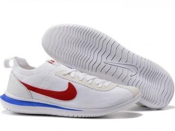 Vente avec paiement en ligne: Homme Nike Cortez Blanc/Rouge/Bleu