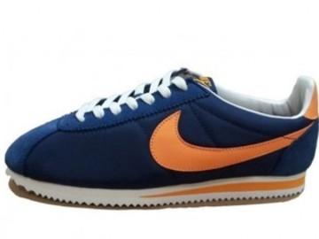 Vente avec paiement en ligne: Homme Nike Cortez Bleu/Orange