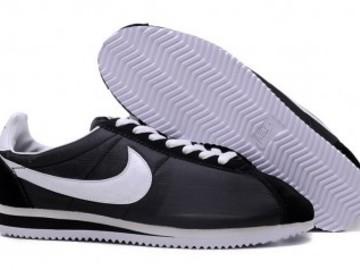 Vente avec paiement en ligne: Homme Nike Cortez Noir/Blanc