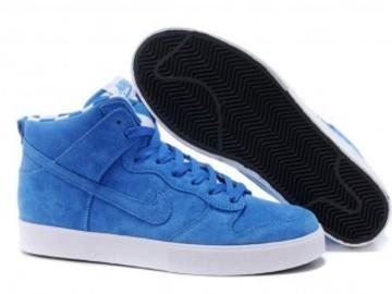 Vente avec paiement en ligne: Homme Nike Dunk SB Bleu