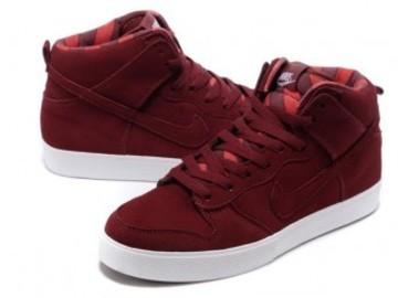 Vente avec paiement en ligne: Homme Nike Dunk SB Rouge