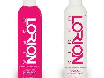 Buy Now: 144 Lorion Argan Oil Shampoo & Conditioner Retail $5,760.00