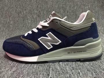 Vente avec paiement en ligne: Homme New Balance 997 Bleu/Gris