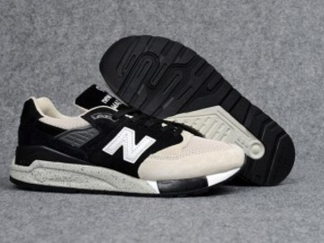 Vente avec paiement en ligne: Homme New Balance 998 Noir/Beige