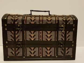 Selling with online payment: African Print Double Wine Bottle Holder (Brown)