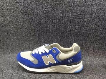 Vente avec paiement en ligne: Homme New Balance 999 Bleu/Blanc