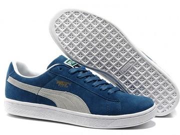 Vente avec paiement en ligne: Homme Puma Suede Classic Bleu