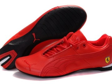 Vente avec paiement en ligne: Homme Puma Future Cat Leather SF Rouge